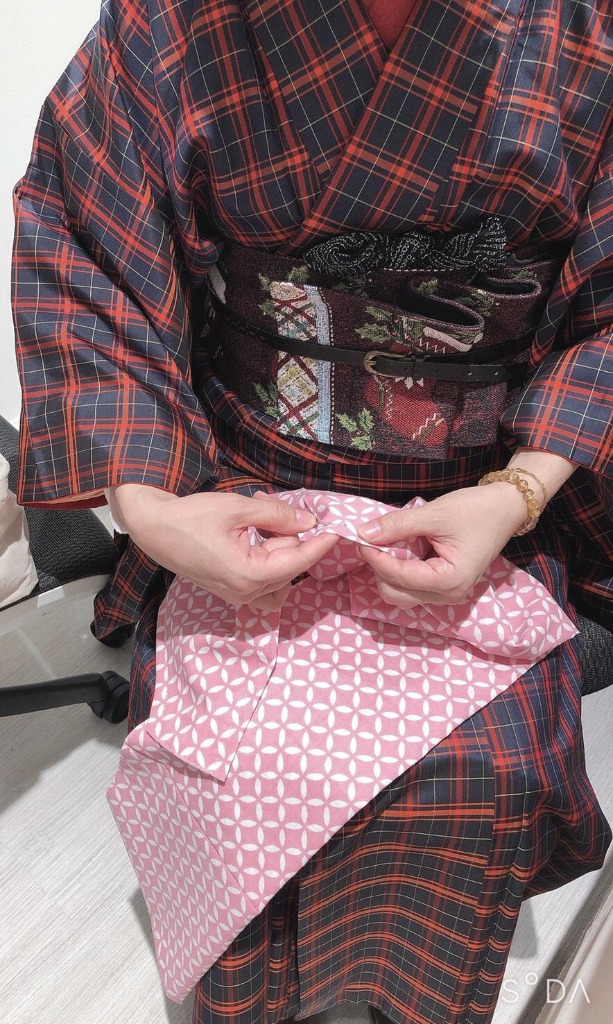 【イベント】ヘノヘノマカナで手縫いの手ぬぐいブラを作りました